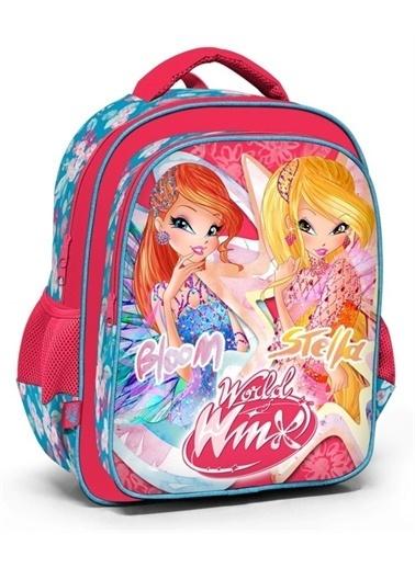 Winx Club Winx Club 63265 Pembe İlkokul Sırt Çantası - Bloom ve Stella Renkli